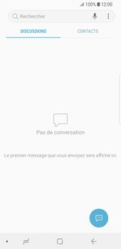 Samsung Galaxy S9 - Contact, Appels, SMS/MMS - Envoyer un SMS - Étape 4