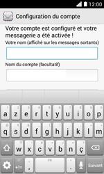 Huawei Ascend Y330 - E-mail - Configuration manuelle - Étape 19