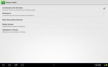 Samsung P5100 Galaxy Tab 2 10-1 - Internet - configuration manuelle - Étape 8