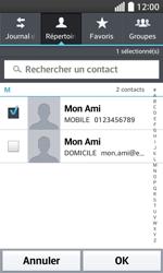 LG F70 - Contact, Appels, SMS/MMS - Envoyer un MMS - Étape 7