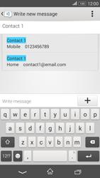 Sony E2003 Xperia E4 G - Mms - Sending a picture message - Step 5