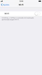 Apple iPhone 6 - iOS 12 - Wi-Fi - Como configurar uma rede wi fi - Etapa 4