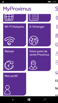 Microsoft Lumia 950 XL - Applications - MyProximus - Étape 19