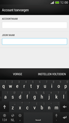 HTC One Mini - E-mail - Account instellen (IMAP met SMTP-verificatie) - Stap 20