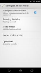 Sony Xperia M2 - Internet no telemóvel - Como ativar 4G -  6