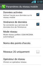LG P700 Optimus L7 - Internet - Utilisation à l