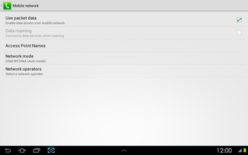 Samsung P5100 Galaxy Tab 2 10-1 - Mms - Manual configuration - Step 6