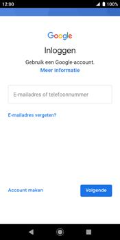 Sony xperia-xz2-h8216-android-pie - Applicaties - Account aanmaken - Stap 5