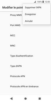 Sony Xperia XZ2 - Internet - Configuration manuelle - Étape 16