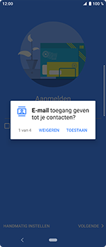 Sony Xperia 10 - E-mail - handmatig instellen (outlook) - Stap 10