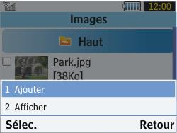 Samsung S3570 Chat 357 - E-mail - envoyer un e-mail - Étape 12
