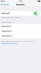 Apple iPhone 6s iOS 9 - Bluetooth - Conectar dispositivos a través de Bluetooth - Paso 5