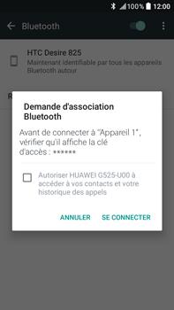 HTC HTC Desire 825 - Bluetooth - connexion Bluetooth - Étape 9