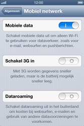 Apple iPhone 4 (iOS 6) - internet - data uitzetten - stap 5