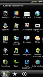 HTC X515m EVO 3D - Wifi - configuration manuelle - Étape 2