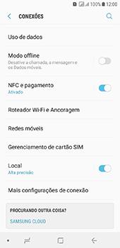 Samsung Galaxy J6 - Rede móvel - Como ativar e desativar o roaming de dados - Etapa 5