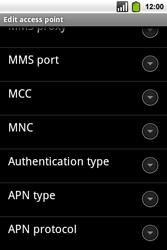 Alcatel OT-991 Smart - MMS - Manual configuration - Step 14