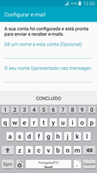Samsung Galaxy S4 LTE - Email - Configurar a conta de Email -  18