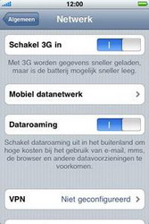 Apple iPhone 3G - Internet - aan- of uitzetten - Stap 5