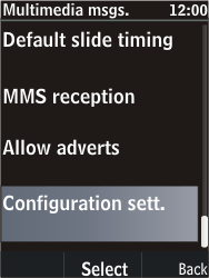 Nokia C2-05 - MMS - Automatic configuration - Step 10