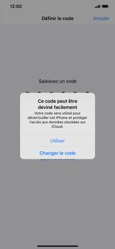 Apple iPhone XS Max - iOS 13 - Sécurité - activéz le code PIN de l'appareil - Étape 6