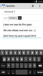 Acer Liquid Z410 - E-mail - E-mails verzenden - Stap 9