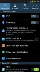 Samsung Galaxy Grand 2 4G - Internet et connexion - Partager votre connexion en Wi-Fi - Étape 4
