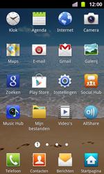 Samsung I8160 Galaxy Ace II - WiFi - Handmatig instellen - Stap 4