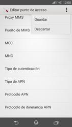 Sony Xperia E4g - Internet - Configurar Internet - Paso 16