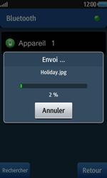 Samsung Wave 2 - Photos, vidéos, musique - Envoyer une photo via Bluetooth - Étape 13