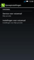 Alcatel OT-5036X Pop C5 - Voicemail - Handmatig instellen - Stap 8