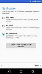 Sony Xperia X Performance (F8131) - E-mail - Manual configuration (yahoo) - Step 11