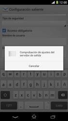 Sony Xperia Z1 - E-mail - Configurar correo electrónico - Paso 16