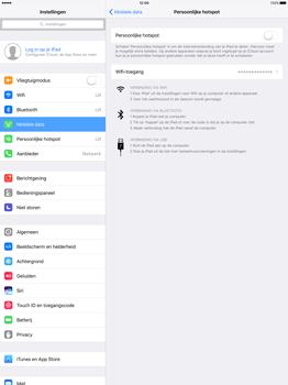 Apple iPad Pro 12.9 inch (Model A1671) - WiFi - Mobiele hotspot instellen - Stap 6