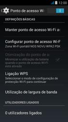NOS NOVU - Internet no telemóvel - Partilhar os dados móveis -  11