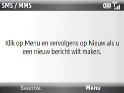 HTC S521 Snap - MMS - Afbeeldingen verzenden - Stap 14