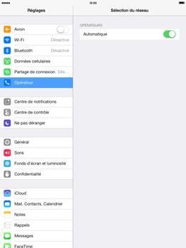 Apple iPad mini iOS 7 - Réseau - Utilisation à l
