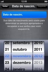Apple iPhone iOS 5 - Primeiros passos - Como ativar seu aparelho - Etapa 13