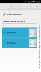 Alcatel One Touch POP D5 (OT-5038X) - Contacten en data - Contacten kopiëren van toestel naar SIM - Stap 7