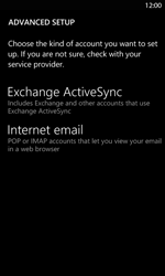 Nokia Lumia 820 LTE - E-mail - Manual configuration - Step 8