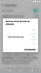LG K10 (2017) - Internet - Ver uso de datos - Paso 6