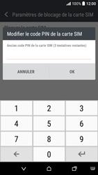 HTC Desire 530 - Sécuriser votre mobile - Personnaliser le code PIN de votre carte SIM - Étape 7