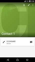 Sony Xperia XZ Premium - Contact, Appels, SMS/MMS - Ajouter un contact - Étape 12