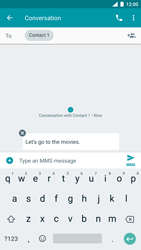 Nokia 8 (SingleSim) - MMS - Sending a picture message - Step 9