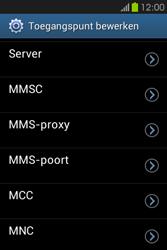 Samsung S6810P Galaxy Fame - Mms - Handmatig instellen - Stap 13