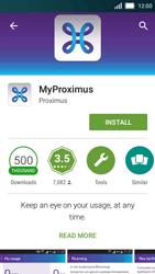 Huawei Y5 - Applications - MyProximus - Step 6