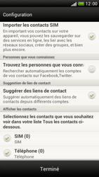 HTC One S - Contact, Appels, SMS/MMS - Ajouter un contact - Étape 4
