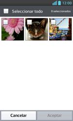 LG Optimus L5 II - Mensajería - Escribir y enviar un mensaje multimedia - Paso 15