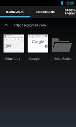 Acer Liquid Glow E330 - Internet - Internetten - Stap 13