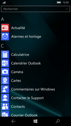 Microsoft Lumia 650 - Applications - Personnaliser l